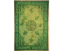 שטיח וינטג' ירוק