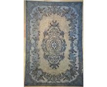 שטיח כחול מרשים