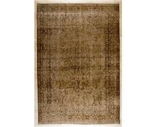 שטיח חום וינטג'
