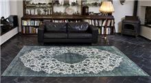 שטיח וינטג' תכלת