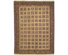 שטיח בדוגמת משבצות