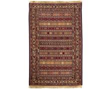 שטיח בורדו פסים - שטיחי אלי ששון