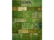שטיח טלאים ירוק