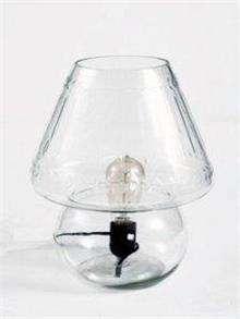 מנורת שולחן זכוכית - אופק תאורה חוץ ופנים