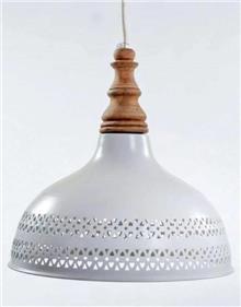 מנורת תלייה פעמון רשת - אופק תאורה חוץ ופנים