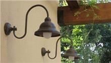תאורת פעמון מפליז - אופק תאורה חוץ ופנים