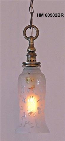 מנורת זכוכית  - אופק תאורה חוץ ופנים