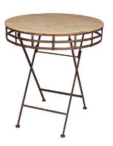 שולחן עגול - אופק תאורה חוץ ופנים