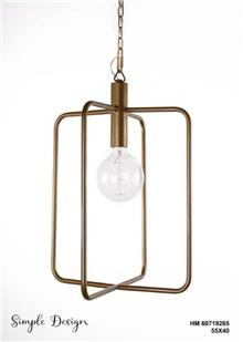 מנורת תלייה HM60719265 - אופק תאורה חוץ ופנים