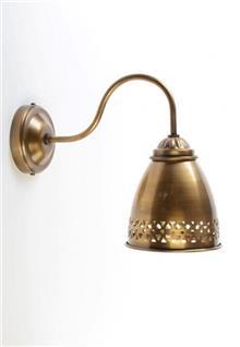 מנורת קיר ברונזה - אופק תאורה חוץ ופנים