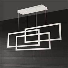 מנורה תלויה מלבנים - אופק תאורה חוץ ופנים