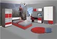 חדר ילדים אדום