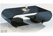 שולחן סלון זכוכית מעוצב