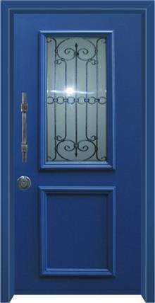 דלת כניסה מסדרת פנורמי  דגם 5012