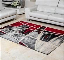 שטיח ריאליטי ויטרז' אדום אפור