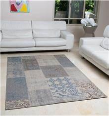 שטיח פאטצ' תכלת