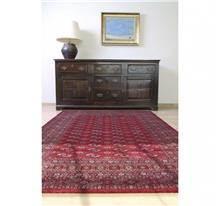 שטיח קירמן בוכרי אדום