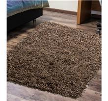 שטיח ספגטי עור חום בהיר