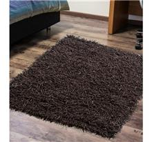 שטיח ספגטי עור חום כהה