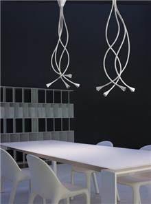 מנורת תקרה מפותלת