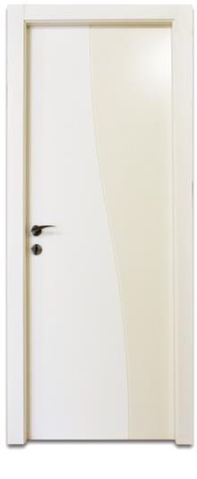 דלת חריטה גלי - דלתות אלון