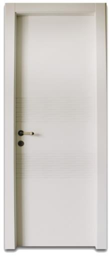 דלת חריצי גלים  - דלתות אלון