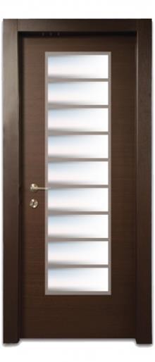 דלת צוהר יפני 9 הפרדות - דלתות אלון