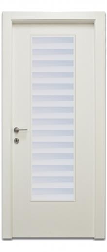 דלת צוהר יפני פסים - דלתות אלון