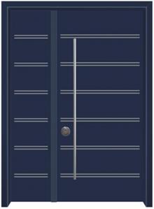 דלת כניסה עדן כחול - דלתות אלון