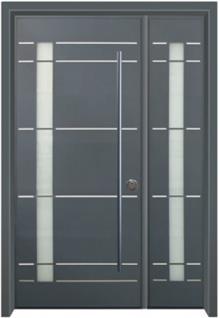 דלת כניסה לבתים פרטיים - דלתות אלון