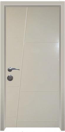 דלת כניסה עדן קרם - דלתות אלון