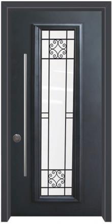 דלת כניסה עדינה - דלתות אלון