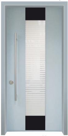 דלת מרקורי בגוונים בהירים - דלתות אלון