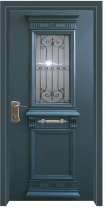 דלת בסגנון יווני  - דלתות אלון