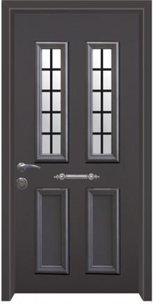 דלת יוונית קלאסית - דלתות אלון