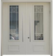 דלת כניסה נפחות כפולה - דלתות אלון