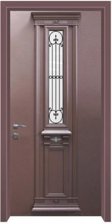 דלת כניסה בסגנון יווני - דלתות אלון