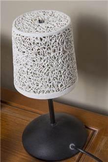 מנורת שולחן קרמיקה - רזיאל תאורה