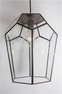 גוף תאורה משולב זכוכית