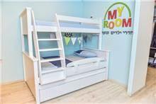 מיטה וחצי קומותיים