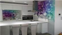 חיפוי זכוכית צבעוני