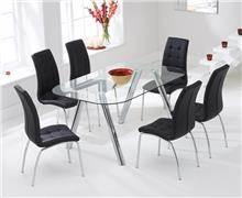 שולחן + כסאות DONNA
