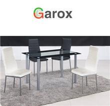 שולחן אוכל ZEBRA BLACK - עודפים - Garox
