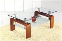 שולחן סלון זכוכית מבית דגם HUGO