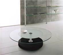 שולחן סלון מזכוכית דגם FENDI