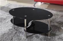 שולחן סלון זכוכית דגם DARK
