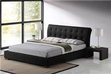 מיטה זוגית מרופדת דגם LUCIANO
