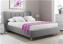 מיטה זוגית דגם TERESA מרופדת בד