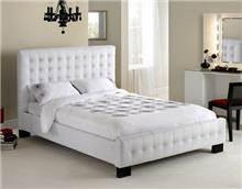 מיטה זוגית דגם CHRISTINA עור אמיתי