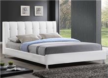 מיטה זוגית מעור אמיתי BYANCA